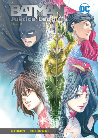 Batman & The Justice League Vol. 2 (Manga)