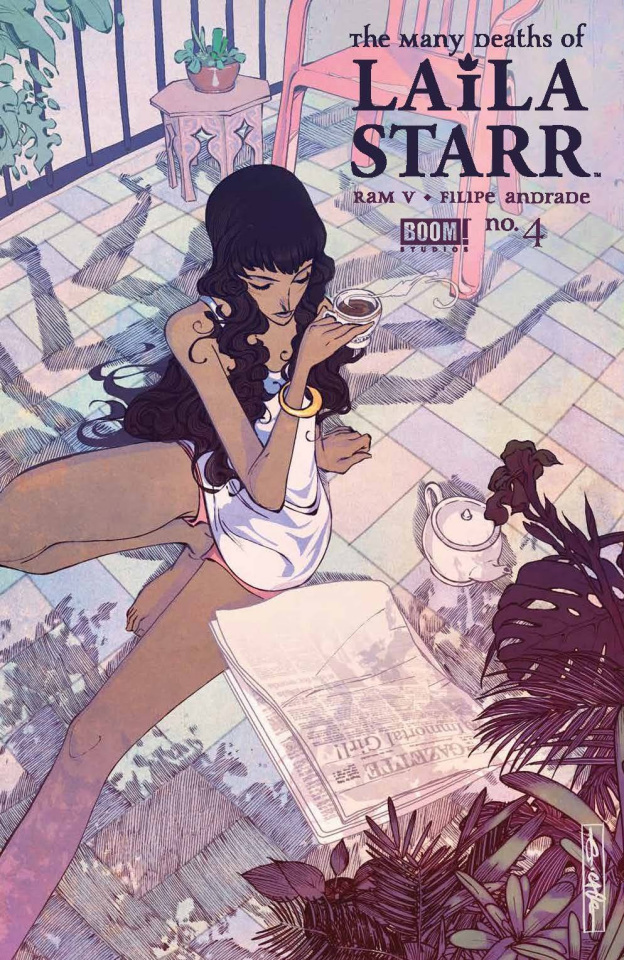 The Many Deaths of Laila Starr #4 (25 Copy Cagle Cover)