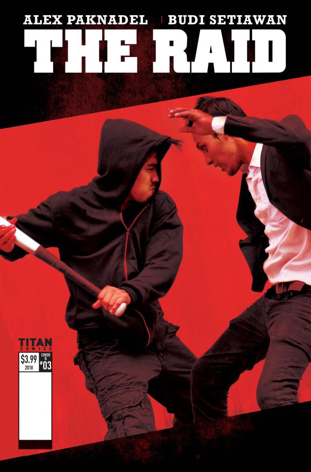 The Raid #3 (Photo Cover)
