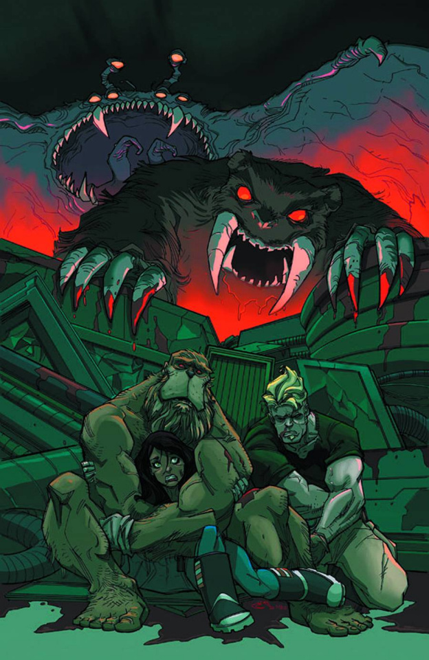 Perhapanauts: Danger Down Under #5 (Rousseau Cover)