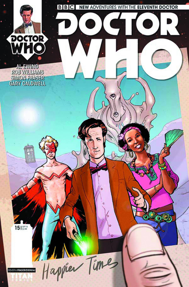 Doctor Who: New Adventures with the Eleventh Doctor #15 (Ronald Cover)