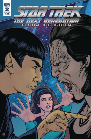 Star Trek: The Next Generation - Terra Incognita #2 (Shasteen Cover)