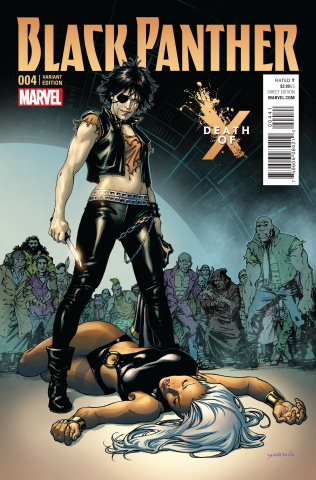 Black Panther #4 (Yardin Death of X Cover)