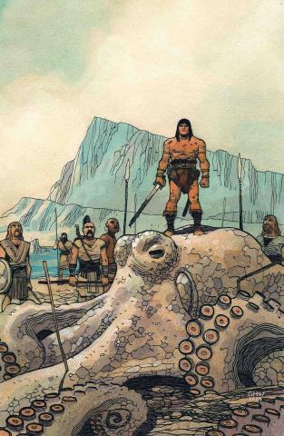 Conan the Barbarian #5 (Walta Cover)