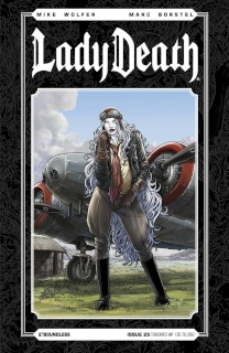 Lady Death #25 (Toronto VIP Cover)