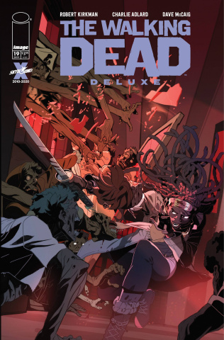 The Walking Dead Deluxe #19 (Conley Cover)