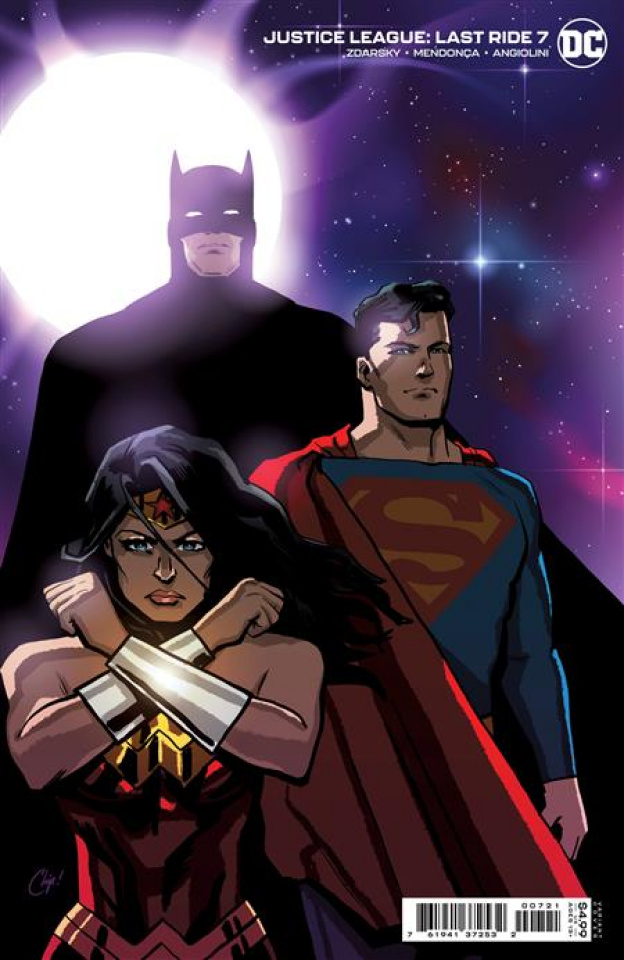 Justice League: Last Ride #7 (Chip Zdarsky Card Stock Cover)