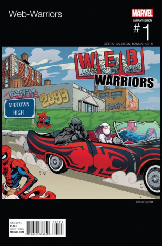 Web Warriors #1 (Scott Hip Hop Cover)