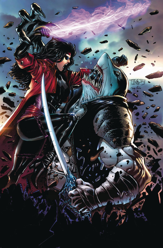 Black Sable #2 (Diaz Cover)
