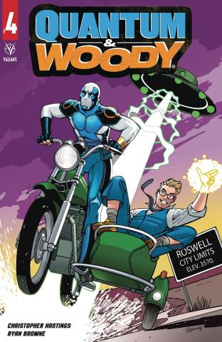 Quantum & Woody #4 (Rosanas Cover)