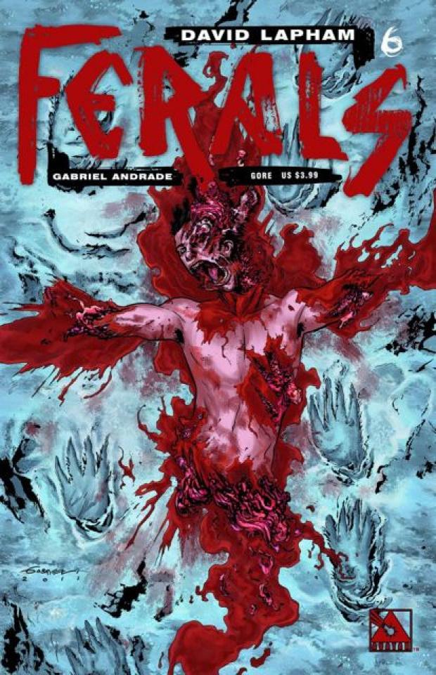 Ferals #6 (Gore Cover)