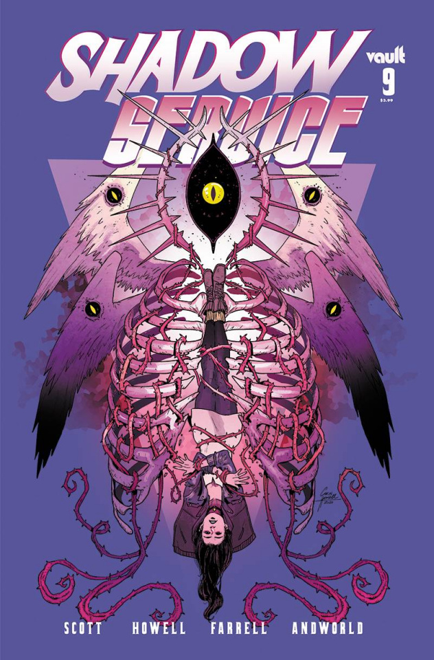 Shadow Service #9 (Howell Cover)