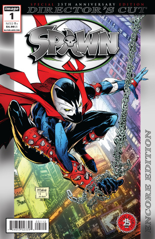 Spawn #1 (25th Anniversary Director's Cut Foil Encore Cover)
