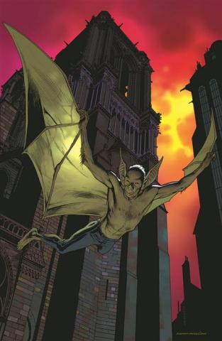 Man-Bat #1 (Kevin Nowlan Cover)