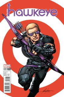 All-New Hawkeye #1 (Grell Classic Cover)