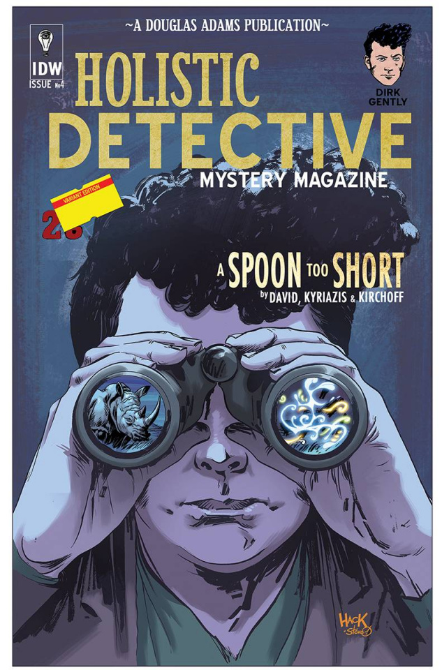 Dirk Gently's Holistic Detective Agency: A Spoon Too Short #4 (Subscription Cover)