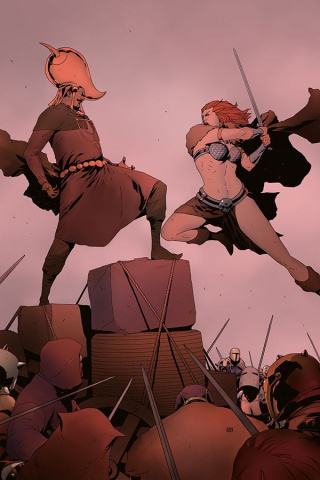 Red Sonja #10 (40 Copy Pham Virgin Cover)