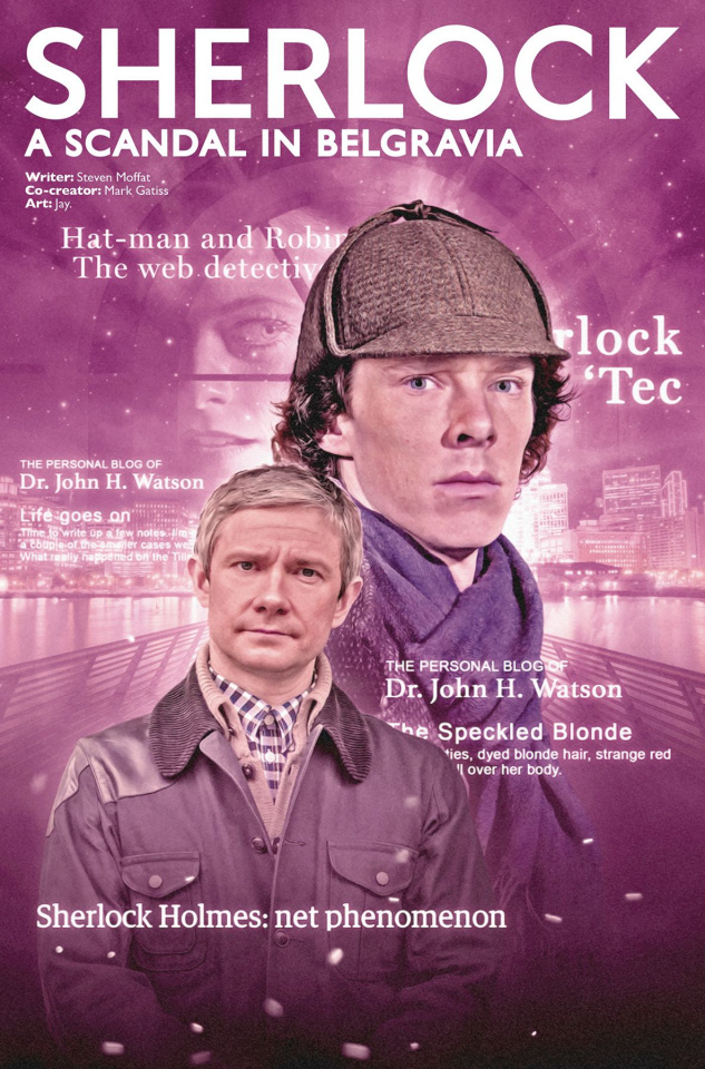 Sherlock: A Scandal in Belgravia #3 (Photo Cover)