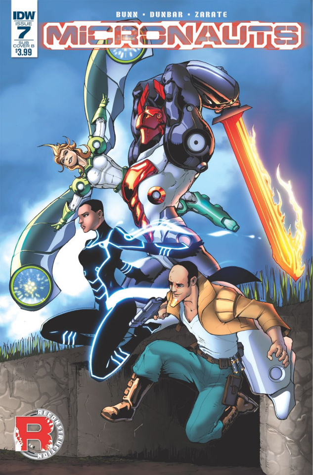 Micronauts #7 (Subscription Cover)