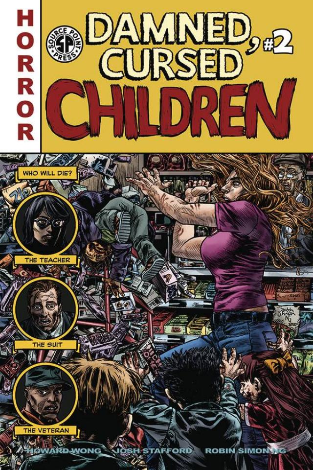 Damned, Cursed Children #2
