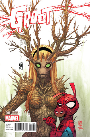 Groot #1 (Gwoot Cover)