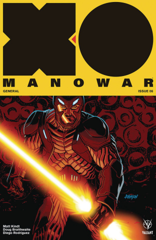 X-O Manowar #6 (Johnson Cover)
