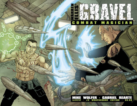 Gravel: Combat Magician #3 (Wrap Cover)