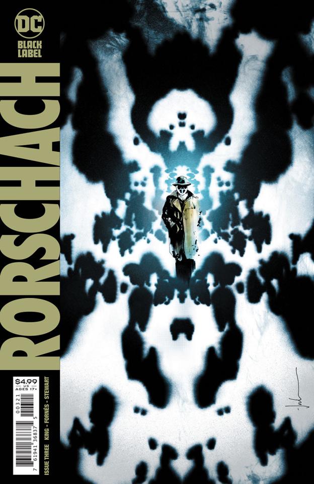 Rorschach #3 (Jock Cover)