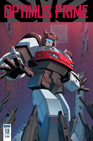 Optimus Prime #12 (Zama Cover)