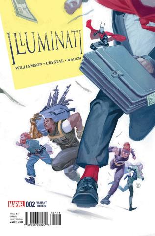 The Illuminati #2 (Tedesco Cover)