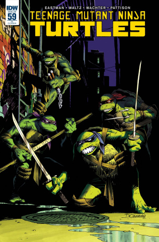 Teenage Mutant Ninja Turtles #60 (10 Copy Cover)