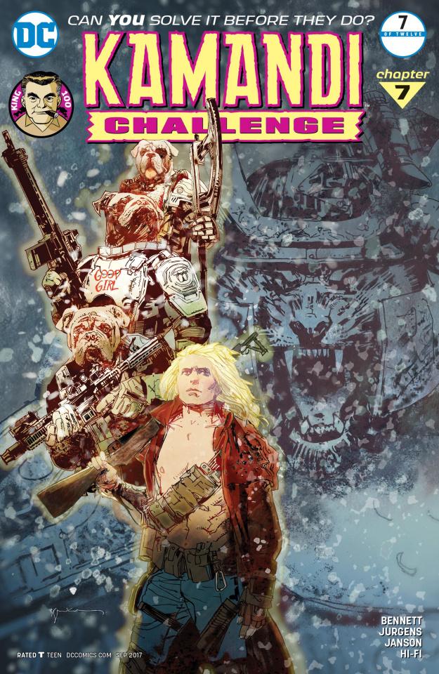 The Kamandi Challenge #7