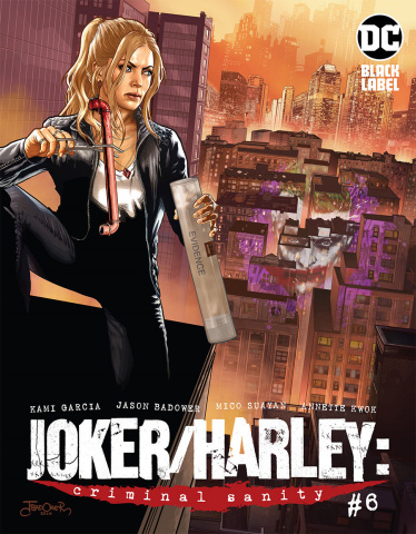 Joker / Harley: Criminal Sanity #6 (Jason Badower Cover)