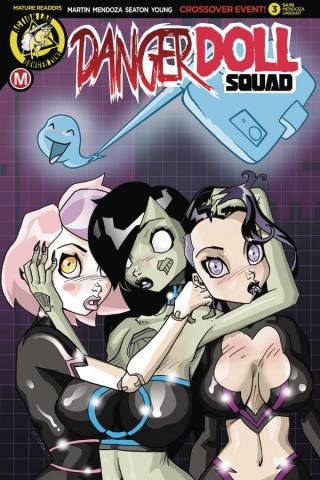 Danger Doll Squad #3 (Mendoza Cover)