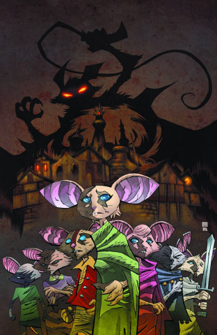 Mice Templar: The Legend #2 (Oeming Cover)