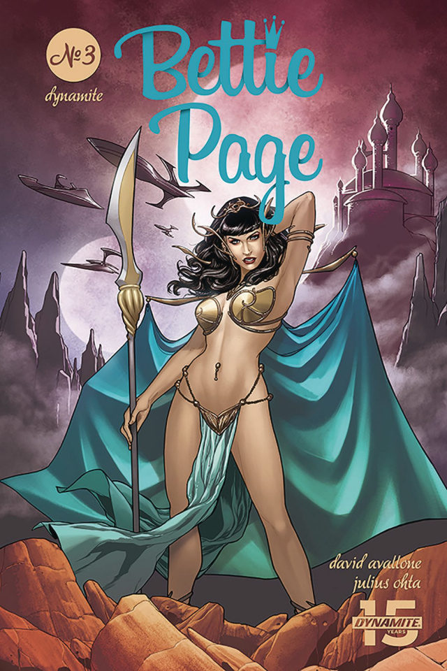 Bettie Page: Unbound #3 (Ohta Cover)