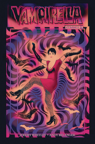 Vampirella #9 (Broxton Subscription Cover)