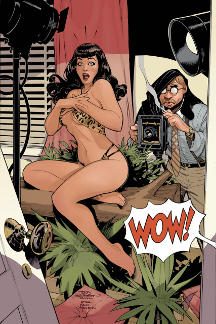 Bettie Page #1 (30 Copy Dodson Virgin Cover)