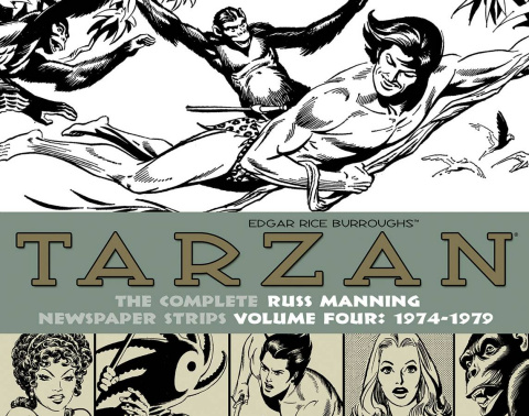 Tarzan: The Complete Russ Manning Newspaper Strips Vol. 4: 1974-1979