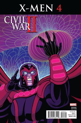 Civil War II: X-Men #4 (Moore Cover)