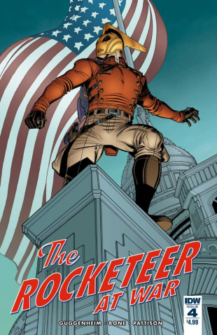 The Rocketeer At War #4 (Subscription Cover)