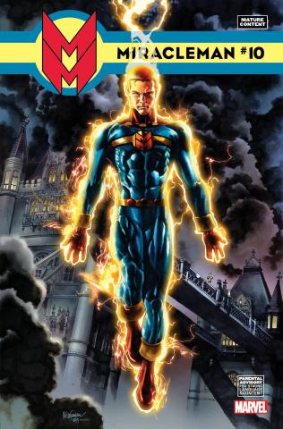 Miracleman #10 (Suayan Cover)