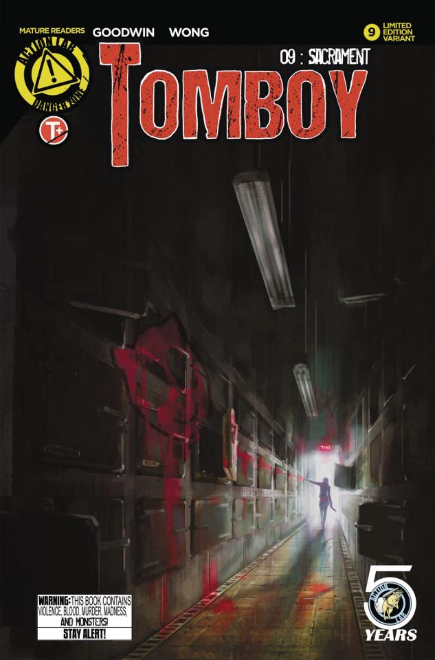 Tomboy #9 (Greene Cover)
