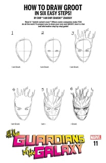 All-New Guardians of the Galaxy #11 (Zdarsky How To Draw Cover)