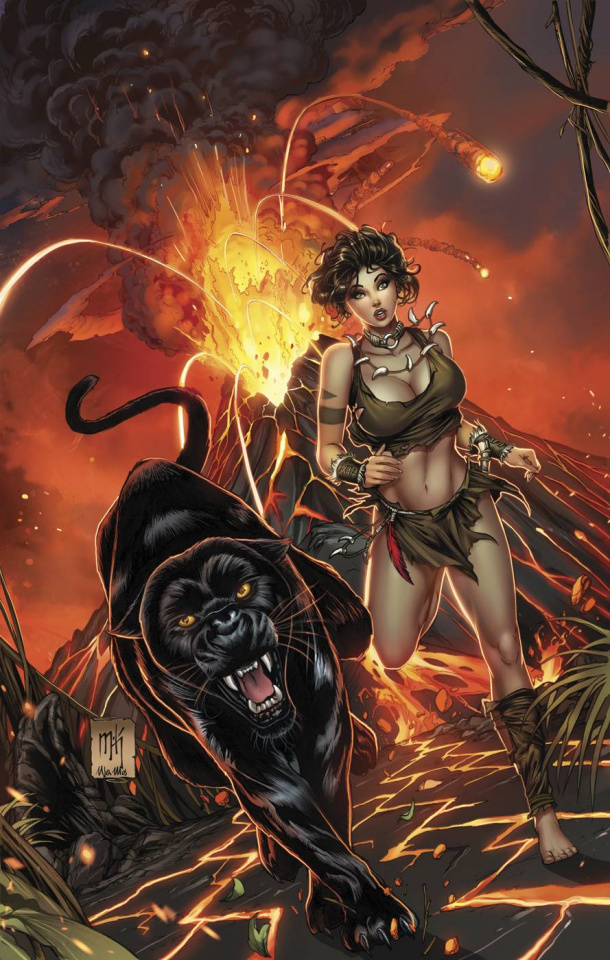 Grimm Fairy Tales: The Jungle Book - Fall of the Wild #2 (Krome & Mos Cover)