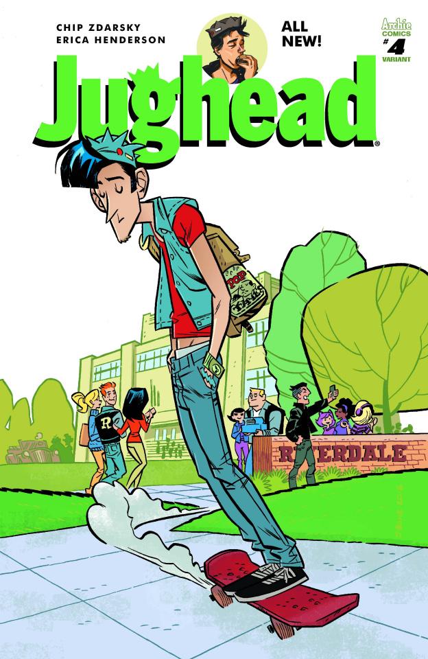 Jughead #4 (J Bone Cover)