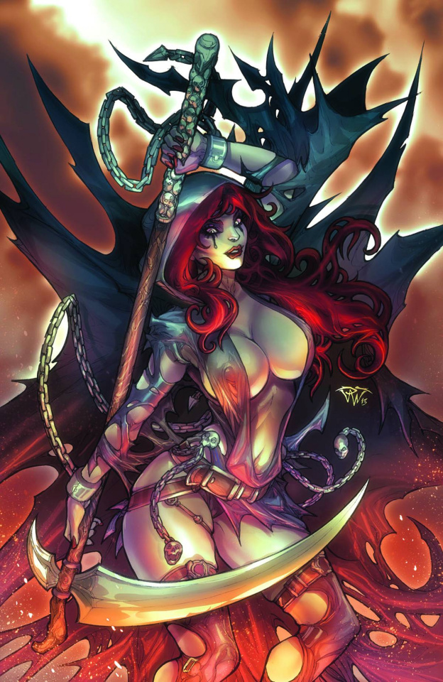 Grimm Fairy Tales: No Tomorrow #4 (Pantalena Cover)