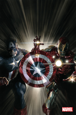 Captain America / Iron Man #1 (Alex Ross Virgin Cover)