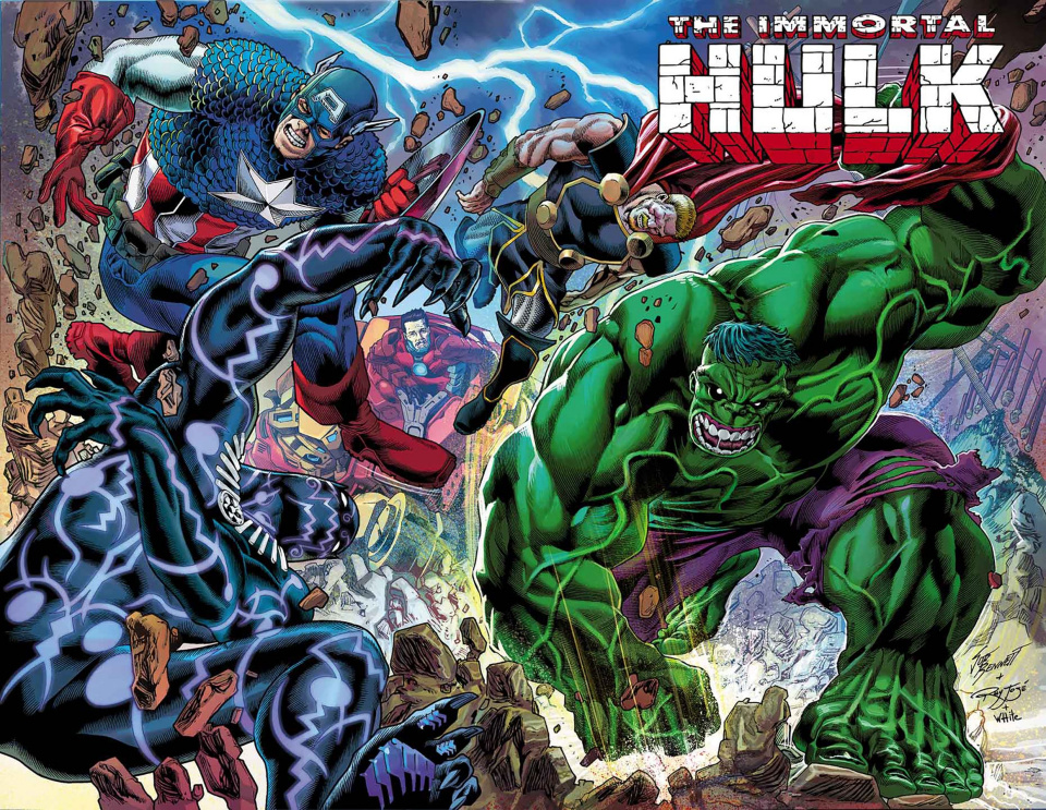 The Immortal Hulk #24 (Bennett Wraparound Cover)