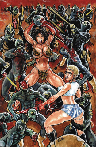 Cavewoman: Trouble For Two #1 (Massey Cover)